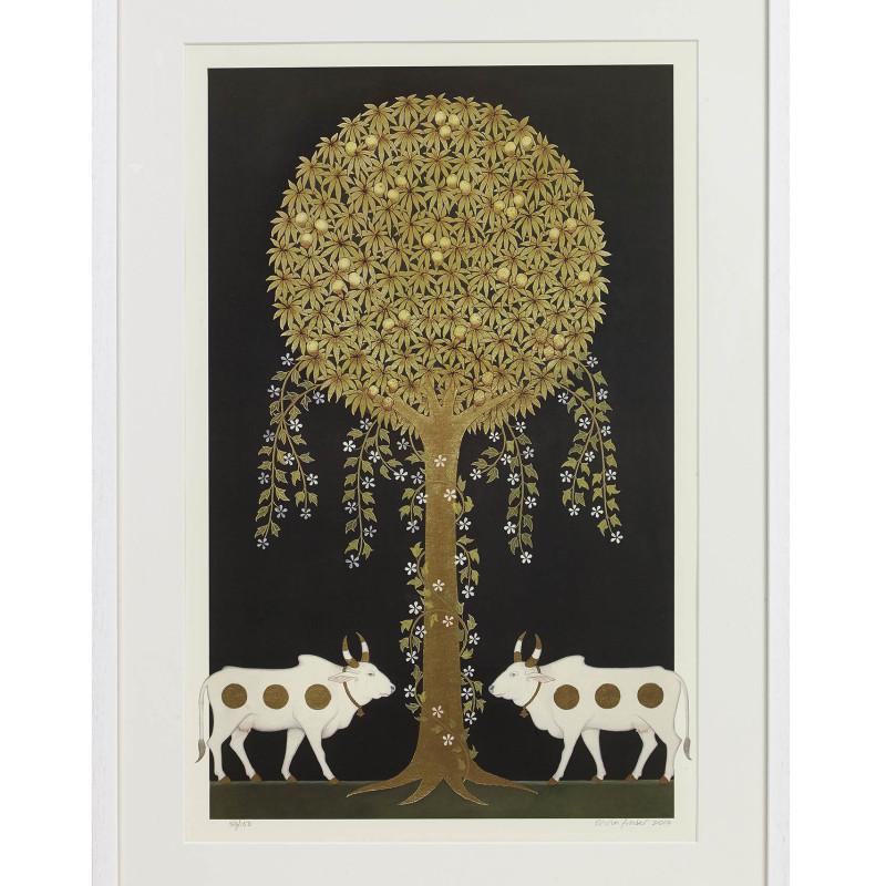 <span class=&#34;artist&#34;><strong>Olivia Fraser</strong></span>, <span class=&#34;title&#34;><em>Krishna II</em>, 2010</span>
