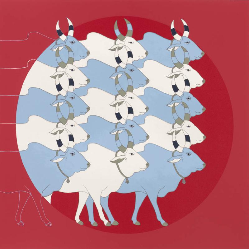 <span class=&#34;artist&#34;><strong>Olivia Fraser</strong></span>, <span class=&#34;title&#34;><em>Red Dawn</em>, 2012</span>