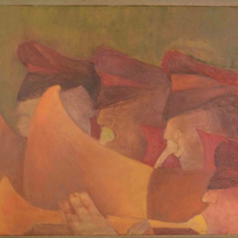 <span class=&#34;artist&#34;><strong>Krishen Khanna</strong></span>, <span class=&#34;title&#34;><em>Procession of four Bandsman</em>, 2015</span>