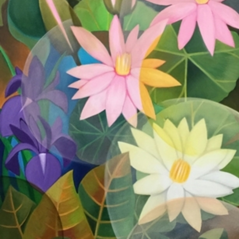 <span class=&#34;artist&#34;><strong>Senaka Senanayake</strong></span>, <span class=&#34;title&#34;><em>Pink Lotus</em>, 2015</span>