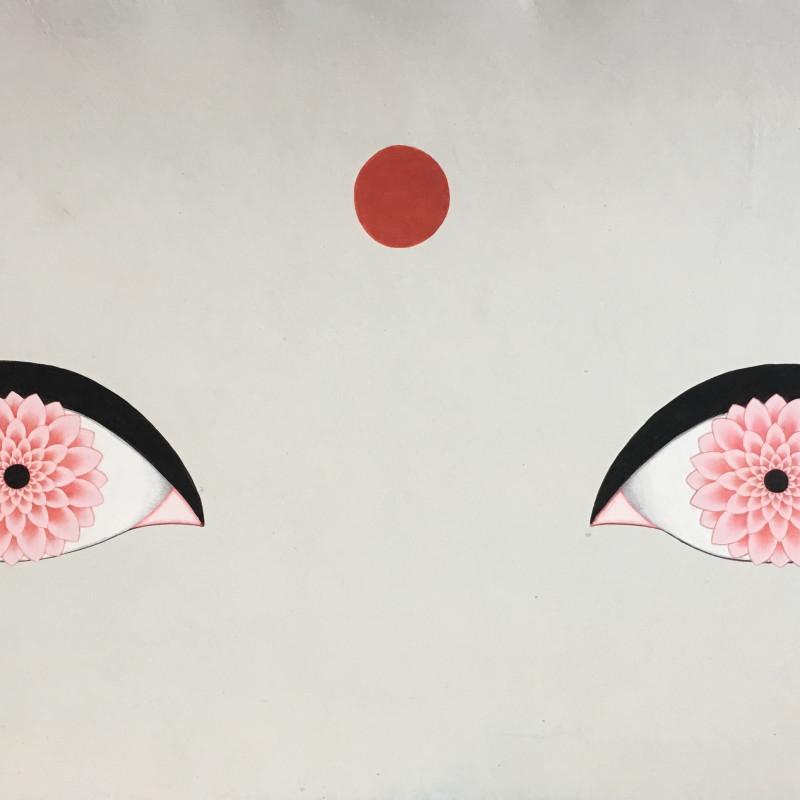 <span class=&#34;artist&#34;><strong>Olivia Fraser</strong></span>, <span class=&#34;title&#34;><em>Lotus Eyes</em>, 2018</span>