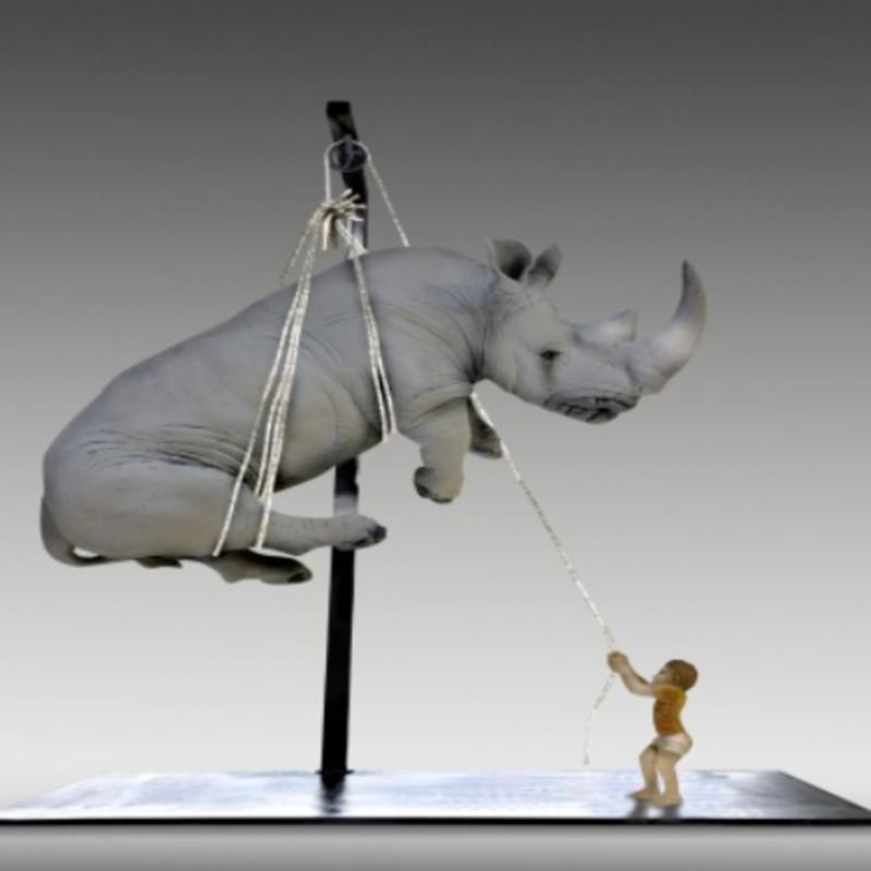 Stefano Bombardieri - Tobia e il Rhino Grande, 2017