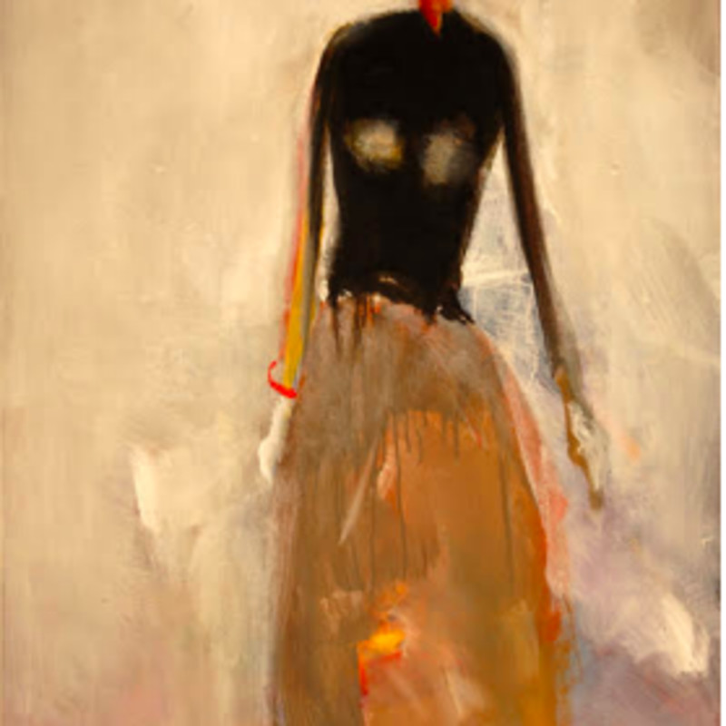 Dean Williams - Woman in Long Dress, 2017