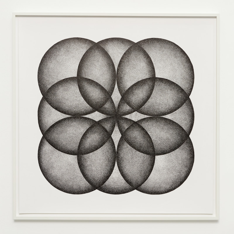 <span class=&#34;artist&#34;><strong>IGNACIO URIARTE</strong></span>, <span class=&#34;title&#34;><em>Eight Circles Forming a Square</em>, 2018</span>