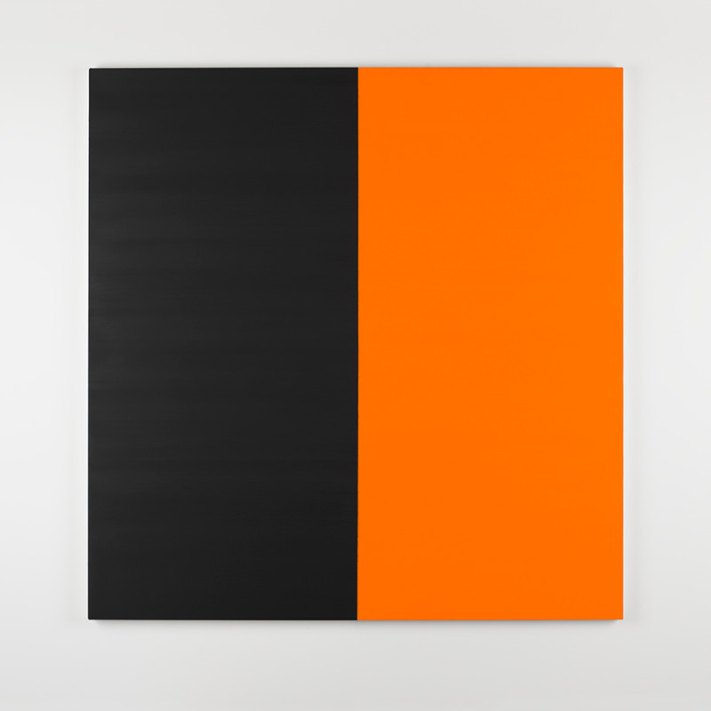 CALLUM INNES, Untitled No. 8 2016 Vine Black, 2016
