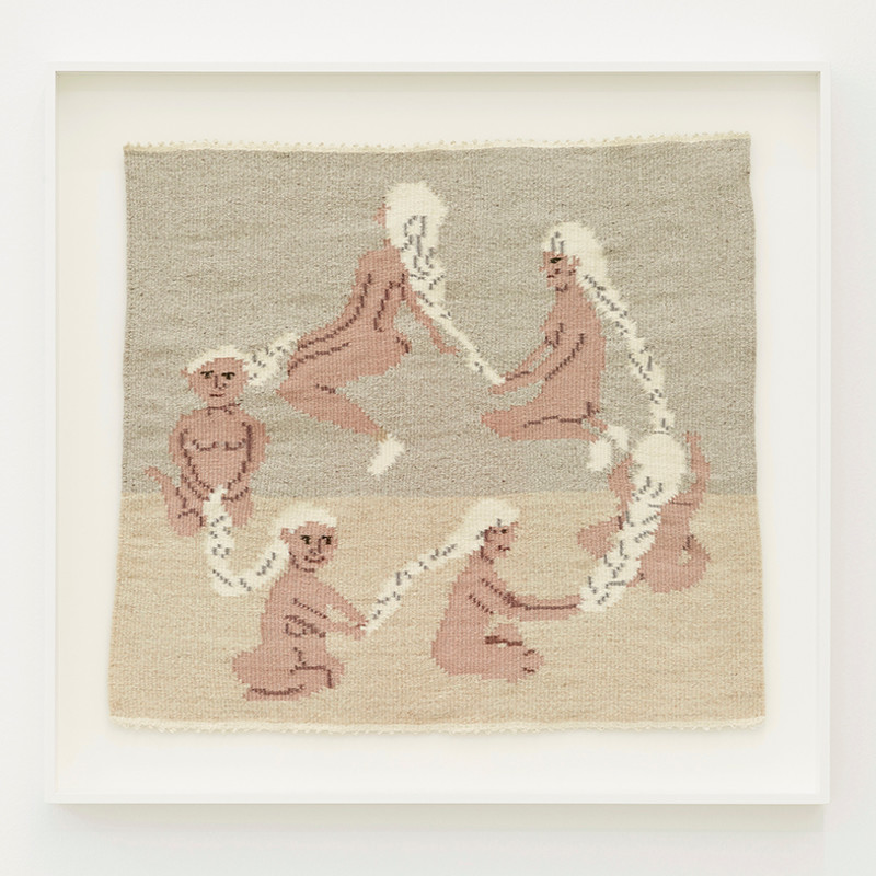 ARNA ÓTTARSDÓTTIR - Circle of Life (Six Ladies Braiding Each Others Hair), 2011