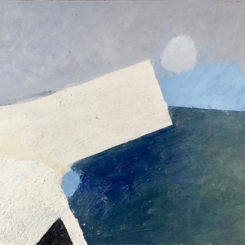 Keith Purser, Chalk on Chalk, 2019