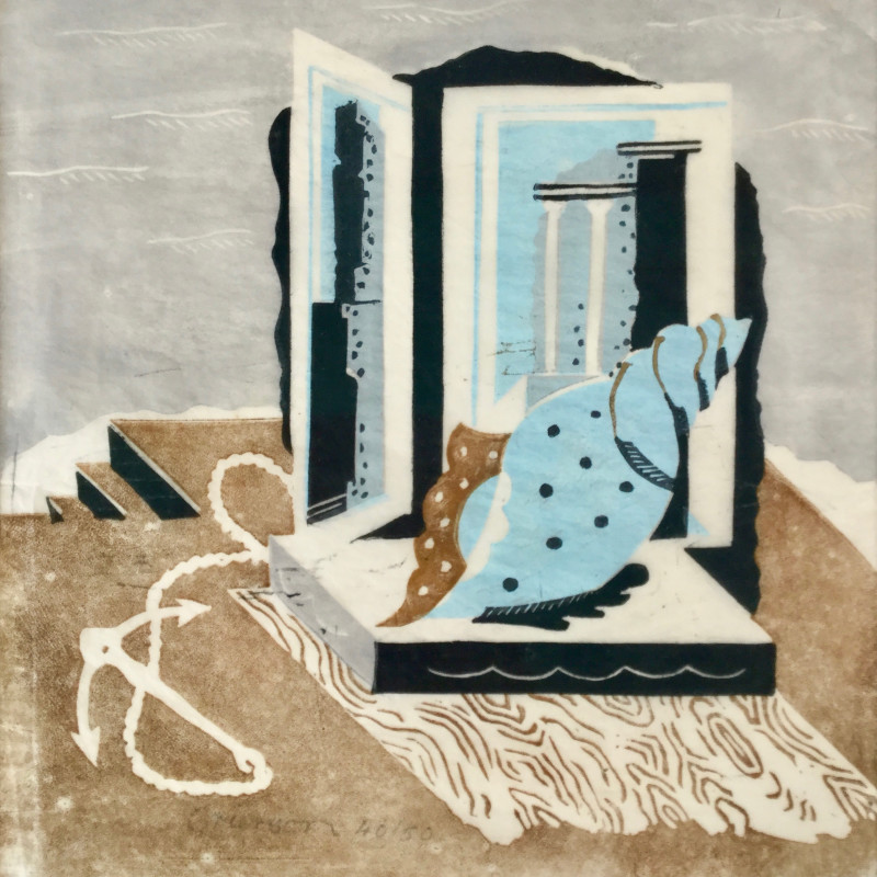 Ronald Grierson, Still Life with Anchor and Shell, c 1930