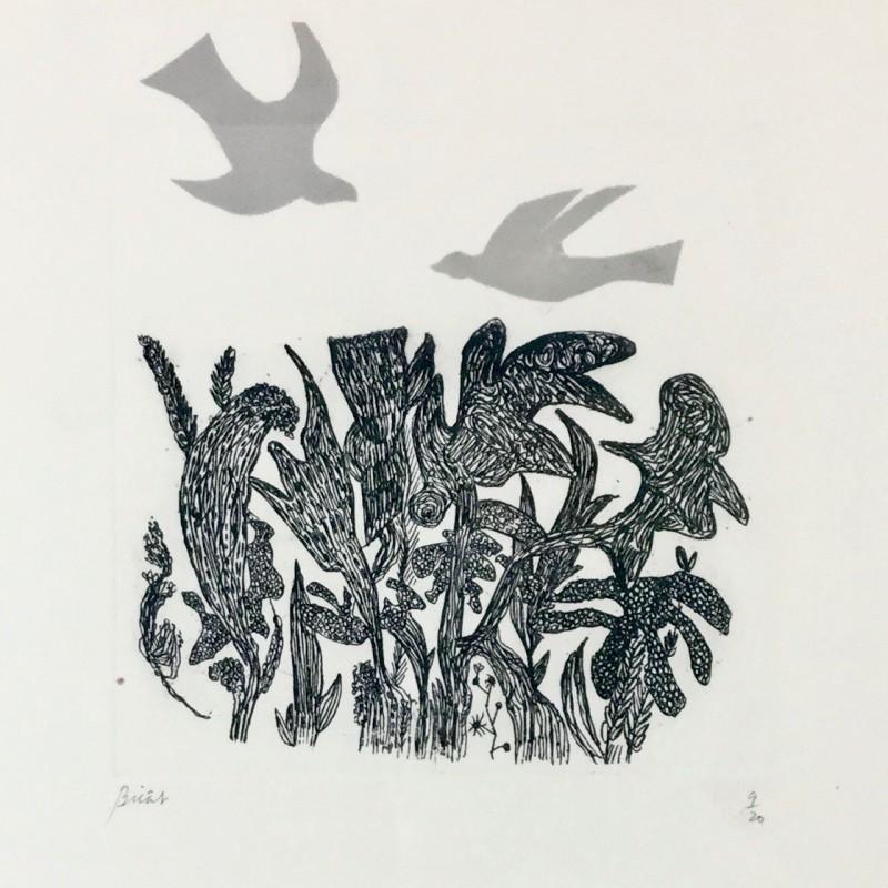 André Bicât, Birds over Wood, circa 1967