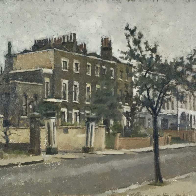 Gordon Scott, Houses in Crescent Grove, Clapham, 1967