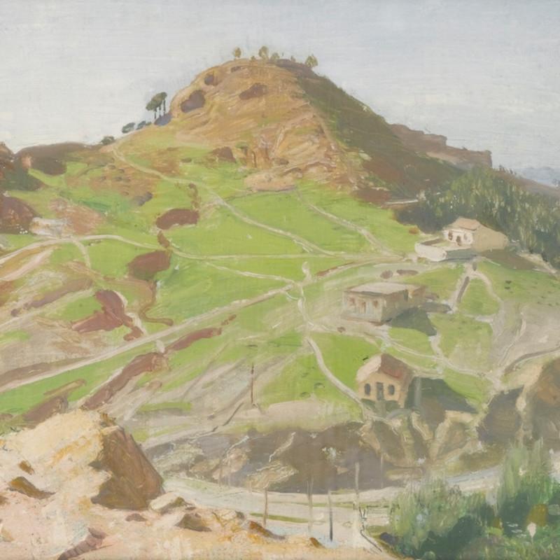 William Nicholson, The Castle, Malaga, 1935