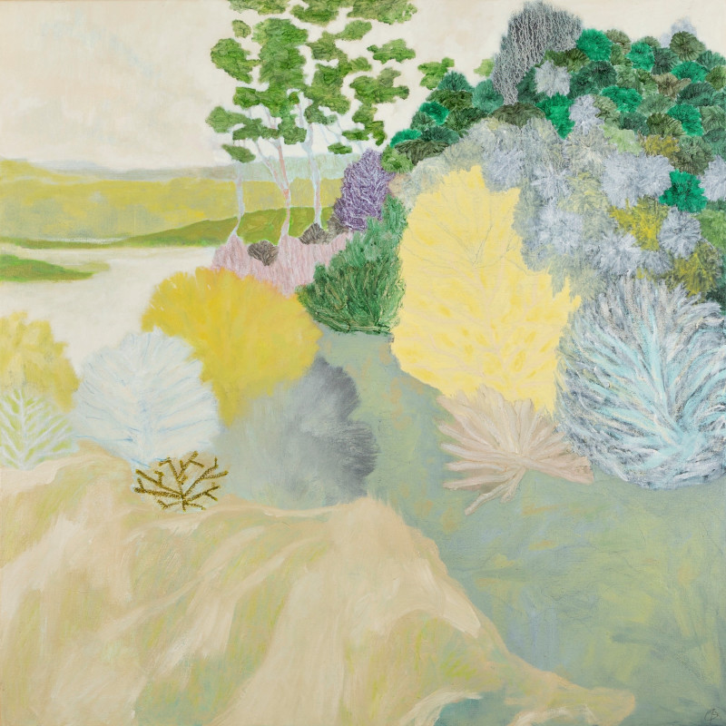 Richard Ballinger, Yellow Bush, 2019