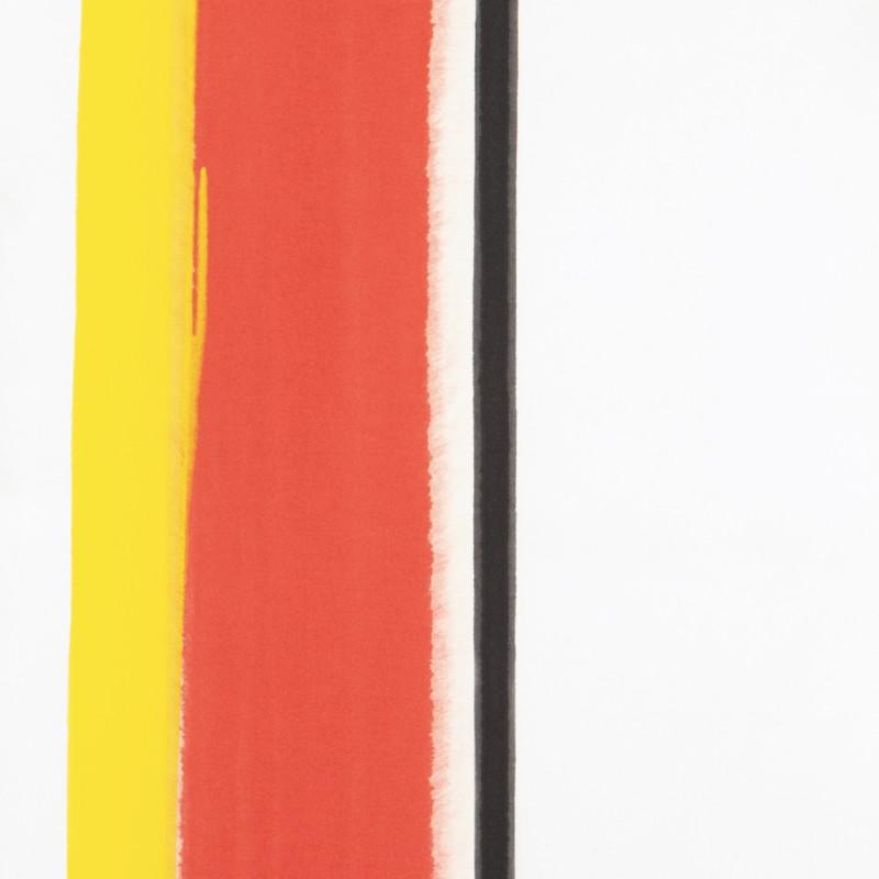 John Copnall, Red, Yellow, Black V (Blue), 1971