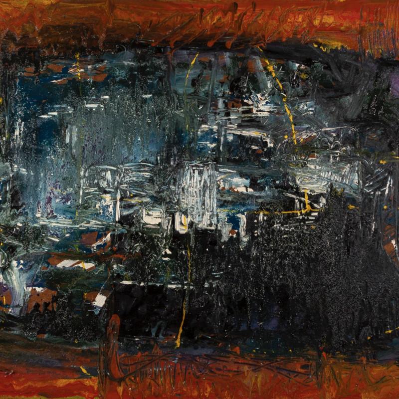 John Plumb, Untitled Abstract, 1956/57