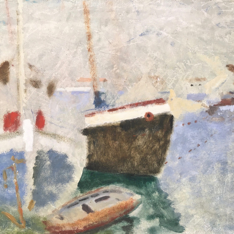 Alethea Garstin, Harbour with Boats