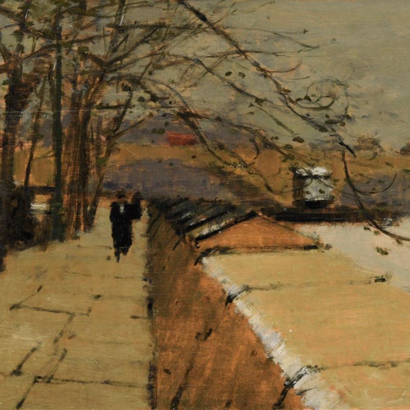 Millbank in Winter