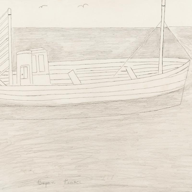 Bryan Pearce, Fishing Boat (Crabber), c 1962