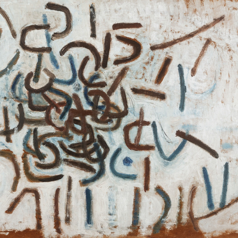 Wendy Pasmore, Untitled (Blues and Browns), 1961