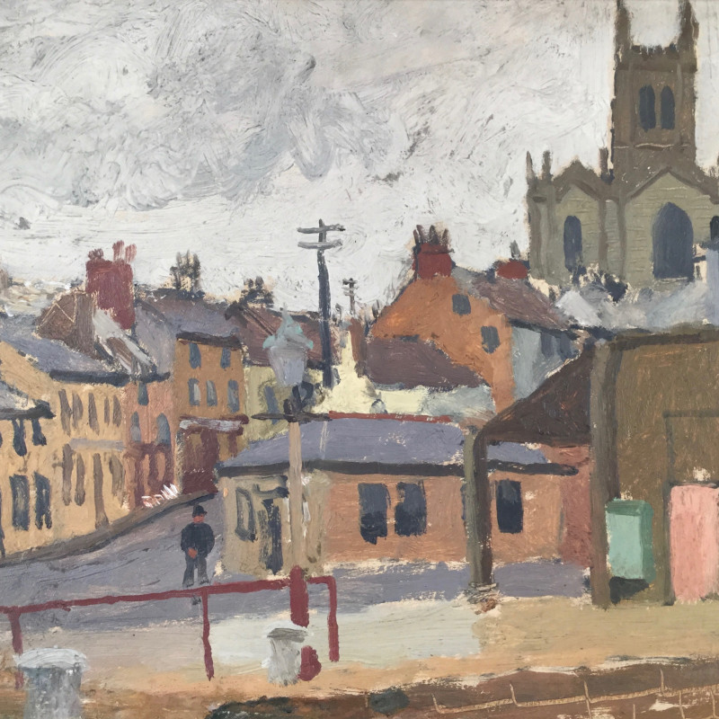 Edward Morland Lewis, St Newlyn East Parish Church, c 1930s