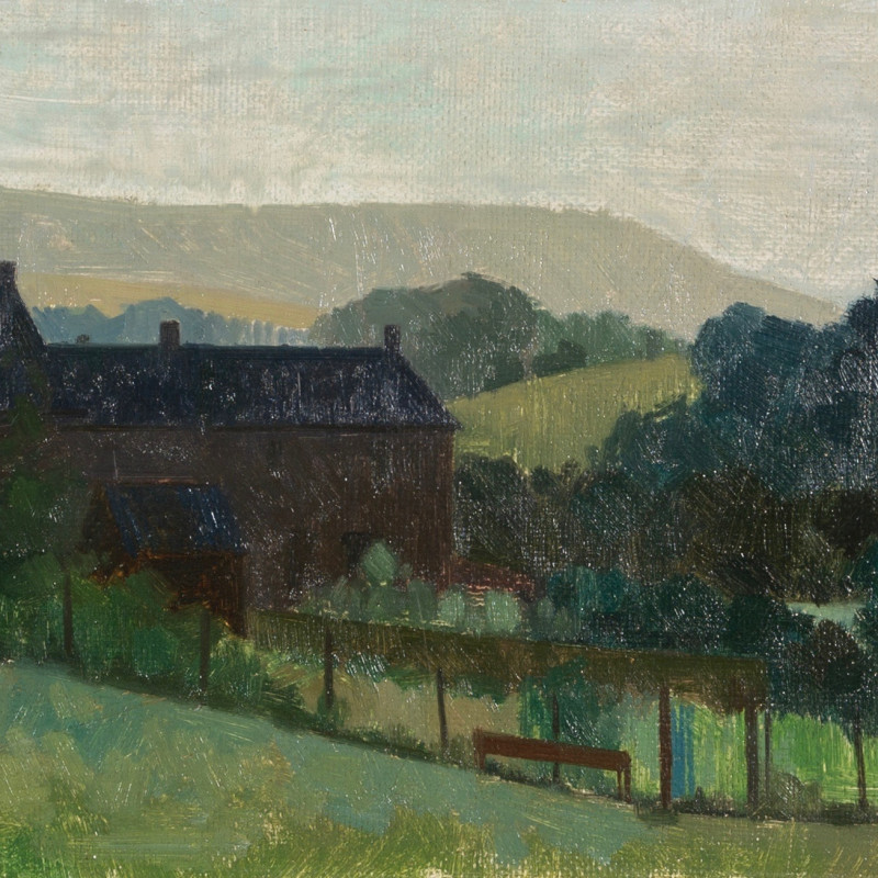 Lawrence Toynbee, Morning in the Eden Valley (Cumbria), c 1960s