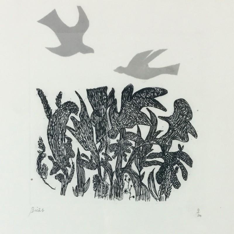 André Bicât, Birds over Wood