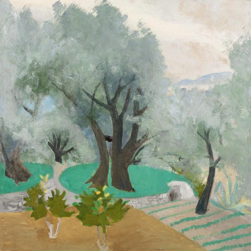 Winifred Nicholson, Spring Landscape (Castagnola Terrace), 1922/30s circa