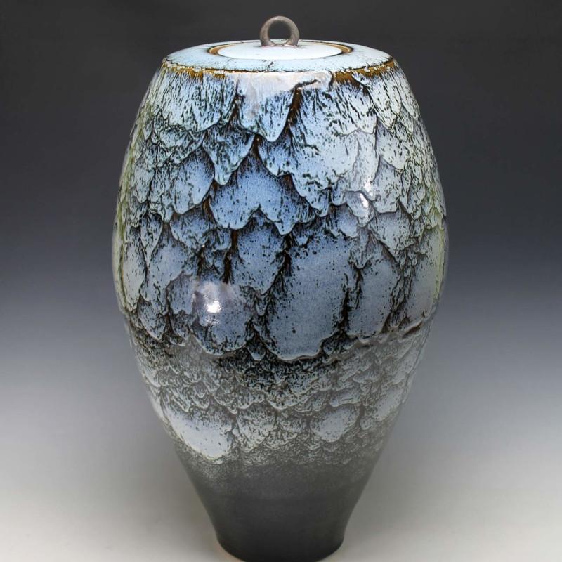 Peter Sparrey - Lidded Vase