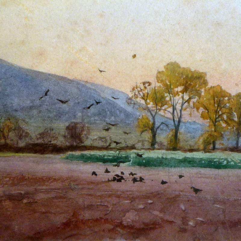 A P Collis - Spring Evening, Malvern
