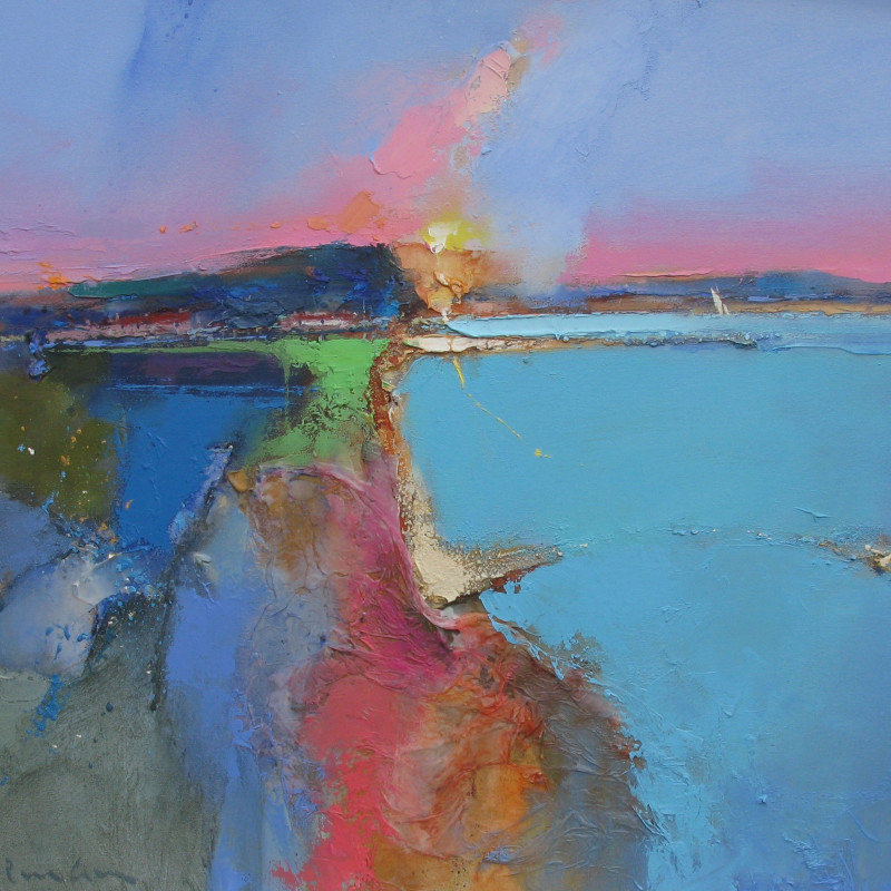 Peter Wileman FROI FRSA RSMA - The bay silent by the speaking sea