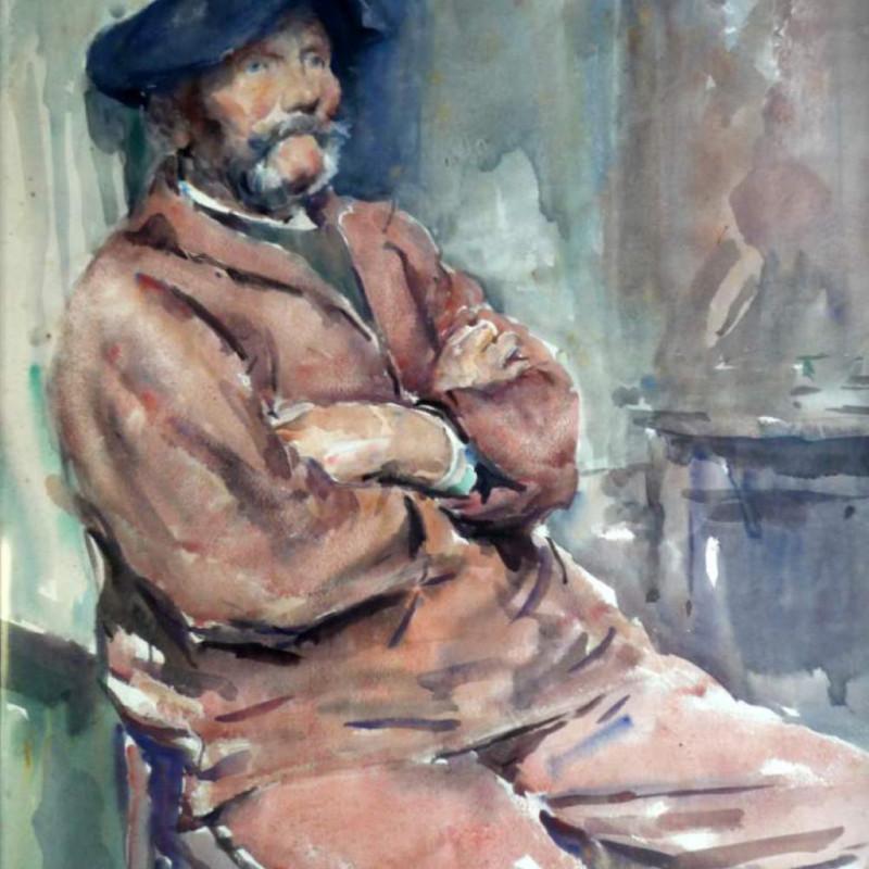 Murray Mcneel Urquhart RBA - Breton Peasant