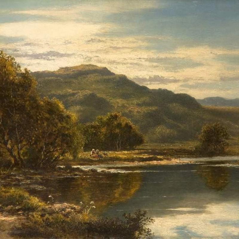 Henry H Parker - River landscape
