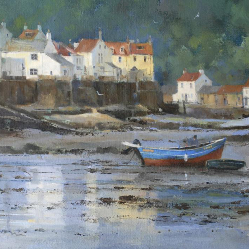 David Howell PPRSMA - Low water at Staithes