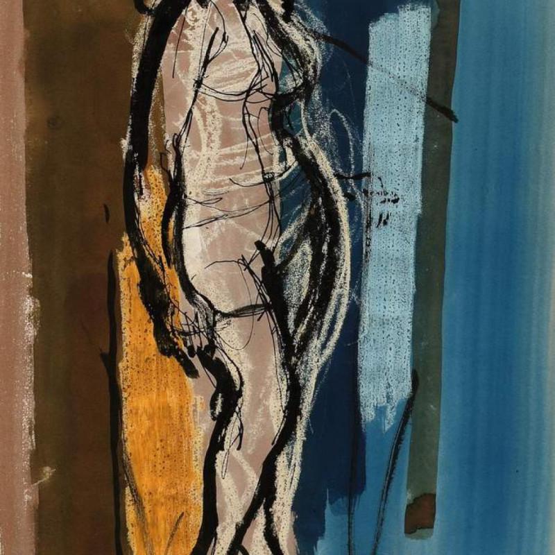 John Piper LG - Standing nude