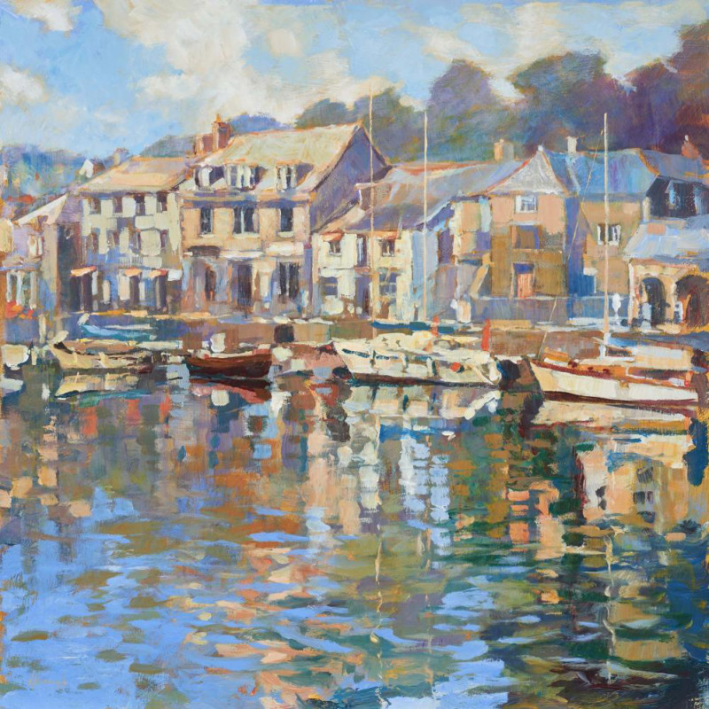 John Hammond, SWAC - Harbour walk, Padstow