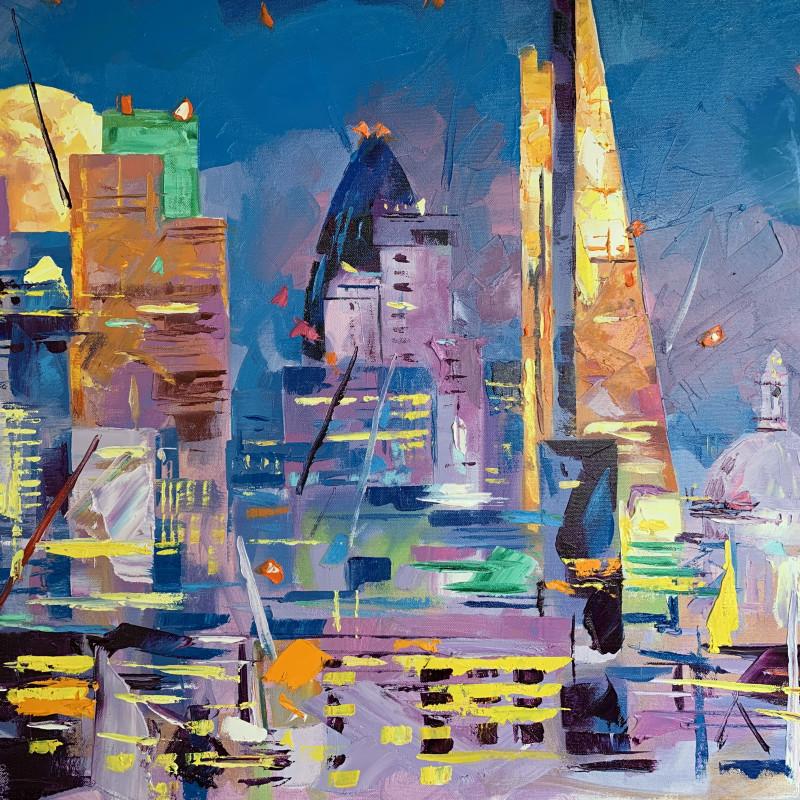 Alex Brown - City in moonlight