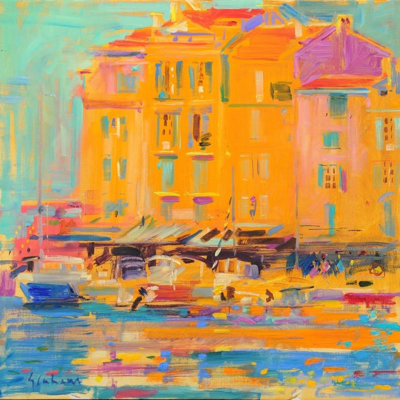 Peter Graham ROI - Quai Frederic Mistral, St Tropez