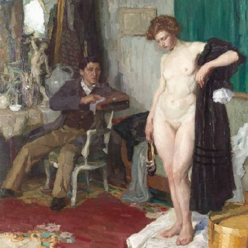 Lothar Von Seebach - The Artist and his Model