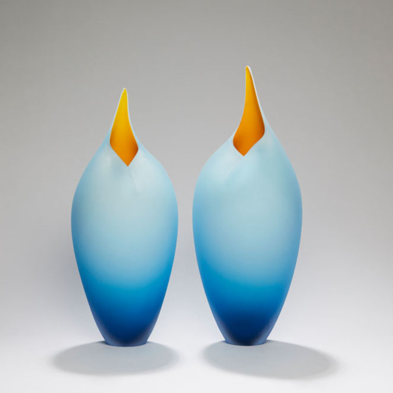 Bruce Marks - Blue and yellow birds SOLD