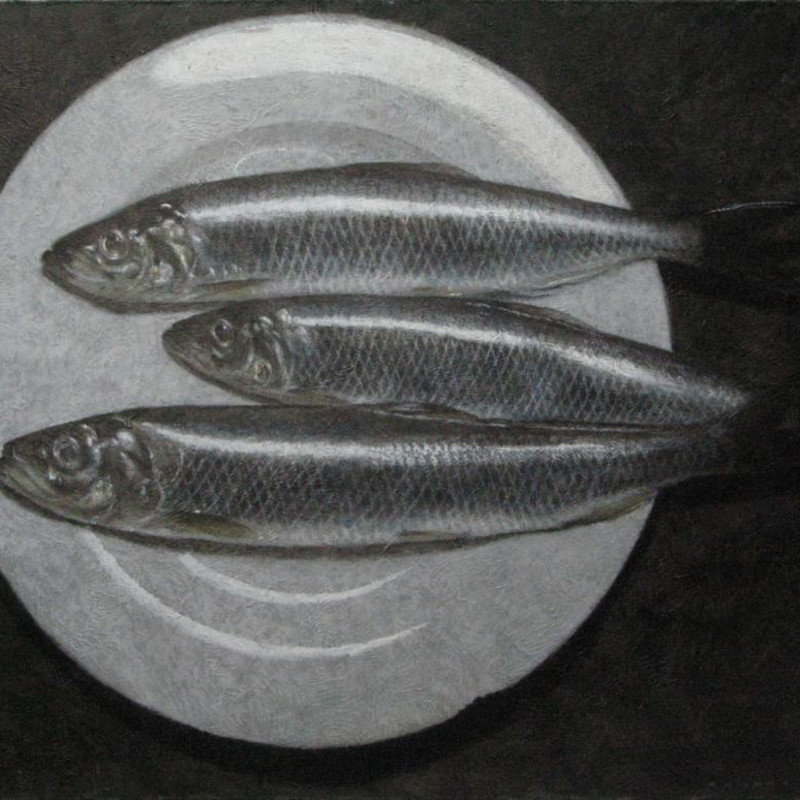 Rob Pittam - Herrings on a plate