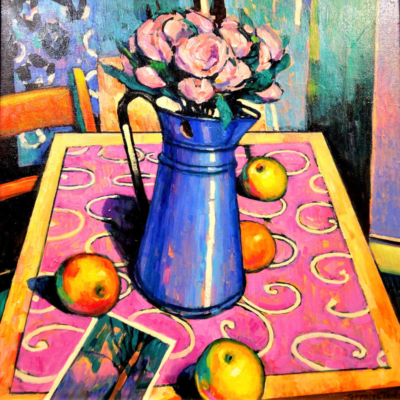 Terence Clarke - The blue jug