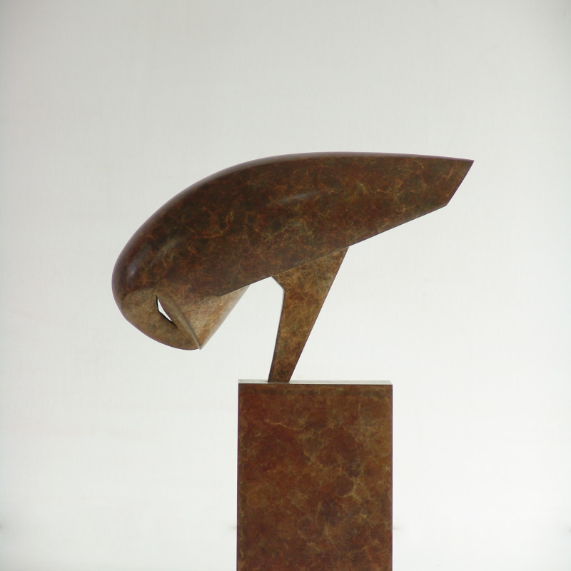 Anthony Theakston Night Owl edition of 12 Bronze H:28cm