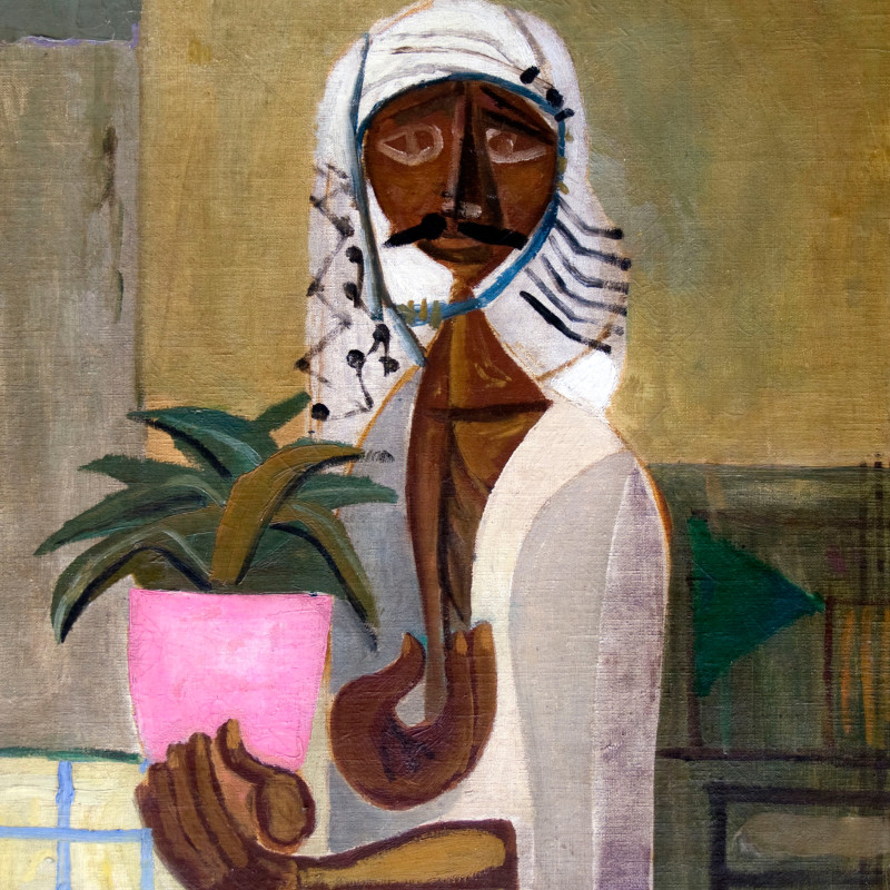 Jewad Selim - The Gardener , 1950