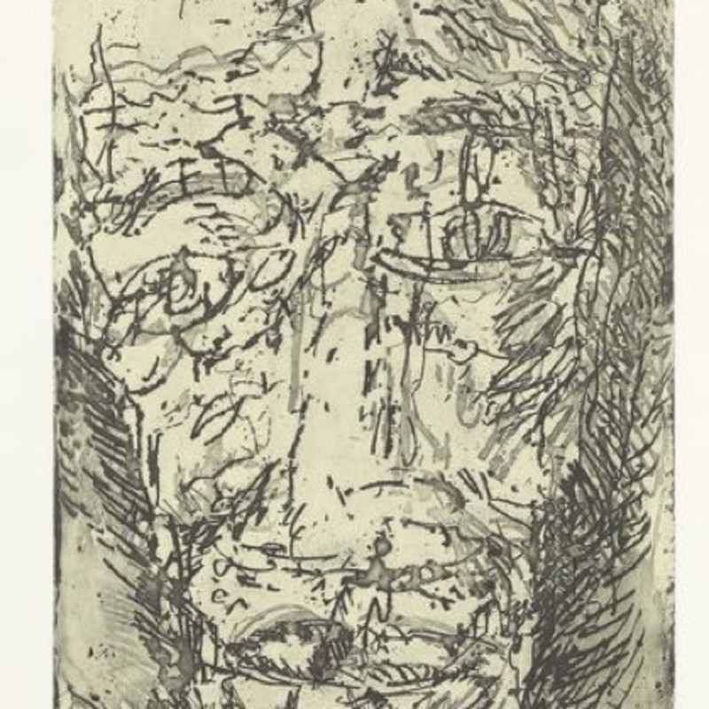 Marwan, Untitled (Face/Landscape), 1985
