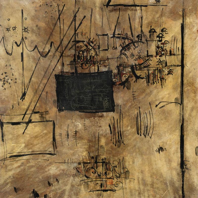 Sadegh Tabrizi - Untitled , Circa 1960