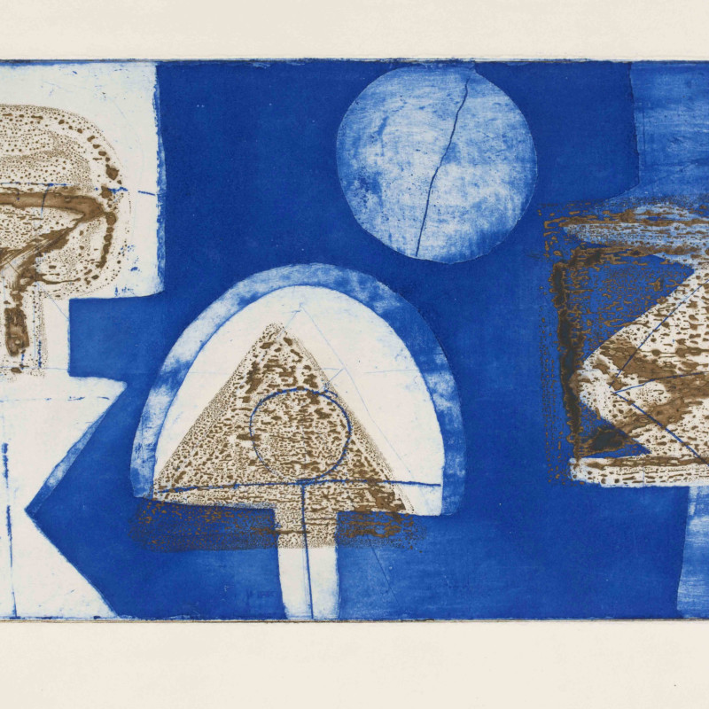 Munira Al Kazi - Vision of the East, 1962