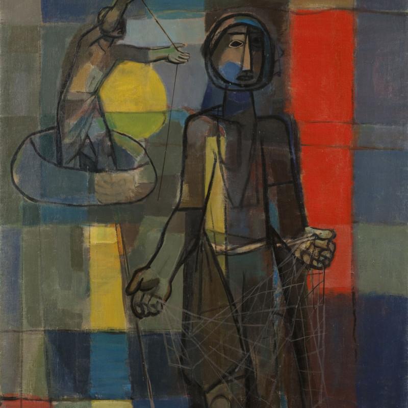 Faiq Hassan, Fisherman, 1958