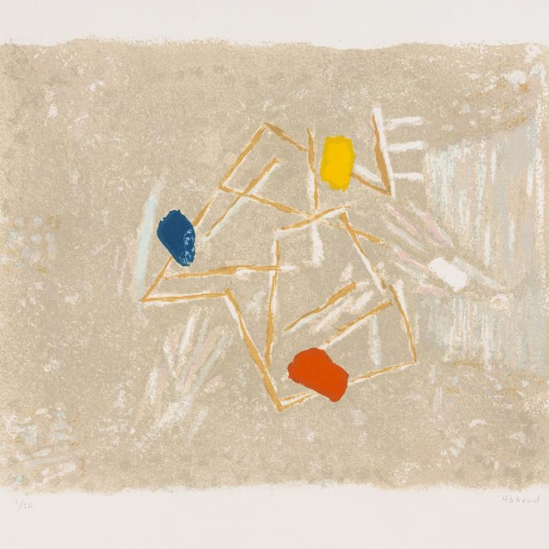 Chafic Abboud, Le Jeu de la ficelle, 1985