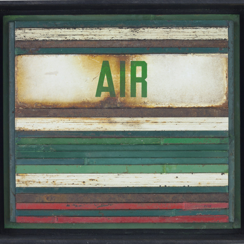 Randall Reid  Air  steel, paint  6.5 x 7.5 x 2 inches