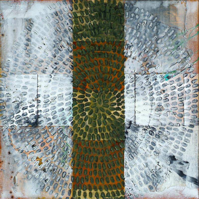 Antonio Puri Faith (triptych) mixed media on canvas 30 x 90 inches
