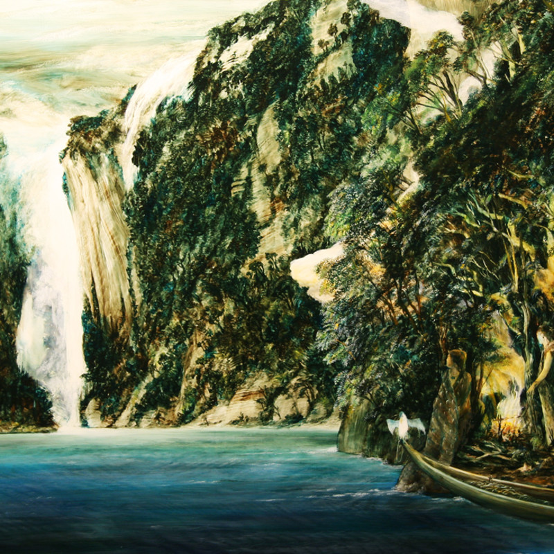 <span class=&#34;artist&#34;><strong>John WALSH</strong></span>, <span class=&#34;title&#34;><em>Not Lost in Fiordland, 2/50</em>, 2014</span>